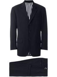 костюм в тонкую полоску Moschino Vintage