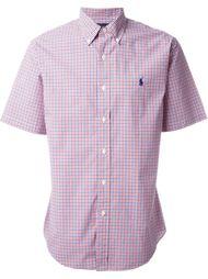 рубашка с короткими рукавами в клетку Polo Ralph Lauren
