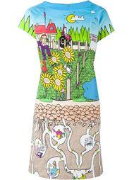 платье-футболка с графическим принтом  Ultràchic