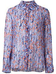 полупрозрачная рубашка  Carven