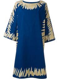 платье с контрастной окантовкой  Tsumori Chisato