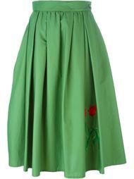 юбка с цветочным принтом   Vivetta