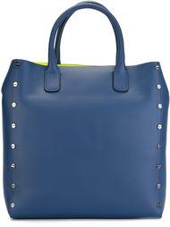 сумка-тоут с контрастной подкладкой Borbonese