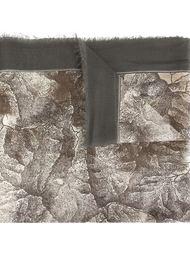 шарф с принтом карты Belstaff