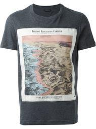 футболка с принтом Belstaff