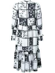 платье миди с цветочным принтом Mother Of Pearl