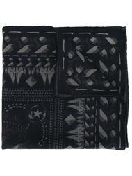 шарф с принтом бабуинов Givenchy