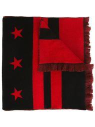 шарф с полосками и звездами Givenchy