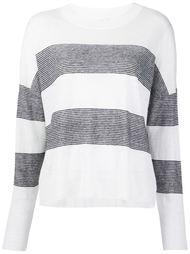 полосатый свитер  Vince