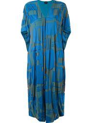 printed wide mid-length dress Fernanda Yamamoto