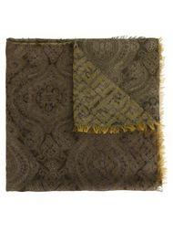 шарф с принтом пейсли  Fendi