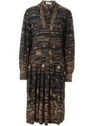 платье с цветочным узором Lanvin Vintage