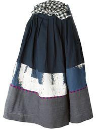 юбка А-образного кроя  с панельным дизайном  Daniela Gregis