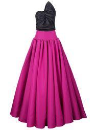 платье с бантом  Christian Siriano