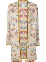 пальто с этническим орнаментом Visvim