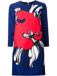платье с абстрактным принтом   Scanlan Theodore