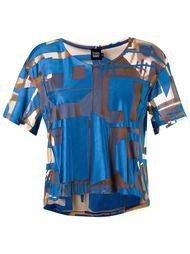round neck panelled blouse Fernanda Yamamoto