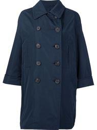 объемное двубортное пальто Brunello Cucinelli