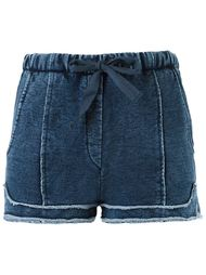 denim short Giuliana Romanno