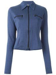 облегающая куртка 'Jersey' Romeo Gigli Vintage