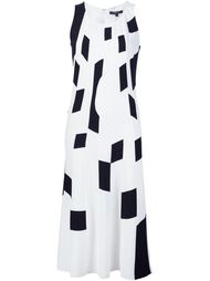 платье шифт с геометрическим принтом Derek Lam