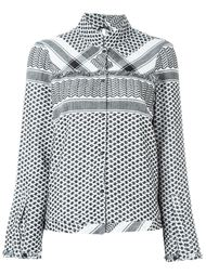 рубашка 'Style' с комбинированным узором Cecilie Copenhagen