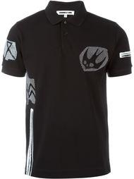 футболка-поло 'Swallow Woodcut'  McQ Alexander McQueen