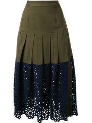юбка с кружевной отделкой Sea