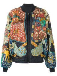 двусторонняя куртка бомбер Hermès Vintage