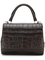 сумка-тоут с эффектом крокодиловой кожи Max Mara