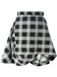асимметричная юбка в клетку Vivienne Westwood Anglomania