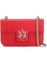 сумка через плечо с бляшкой с логотипом  Alexander McQueen