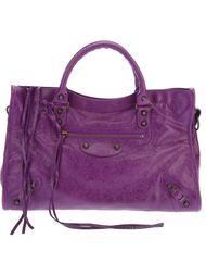 классическая сумка-тоут 'City'  Balenciaga