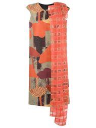 printed panelled dress Fernanda Yamamoto