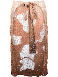 unlined skirt overlay Fernanda Yamamoto