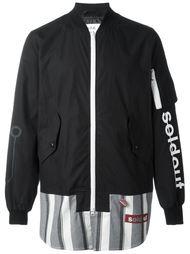 куртка-бомбер с панельным дизайном  Sold Out Frvr