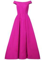 вечернее платье с открытыми плечами Christian Siriano