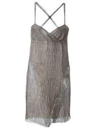 платье с перекрещенными лямками Romeo Gigli Vintage