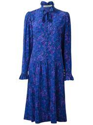 платье шифт с цветочным принтом Jean Louis Scherrer Vintage