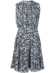 платье без рукавов с мраморным принтом Derek Lam