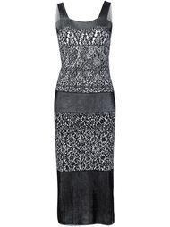 платье с волнистым подолом  Vivienne Westwood Red Label
