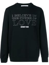толстовка с принтом 'Power of Love' Givenchy