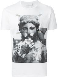 футболка с принтом статуи Neil Barrett