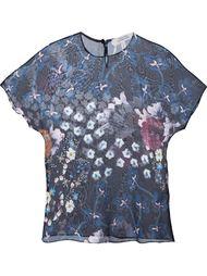 прозрачная футболка с цветочным принтом Dorothee Schumacher