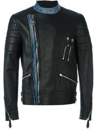 байкерская куртка с контрастными деталями Philipp Plein