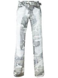 брюки с камуфляжным принтом Walter Van Beirendonck Vintage