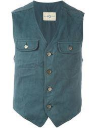 жилетка с накладными карманами Romeo Gigli Vintage