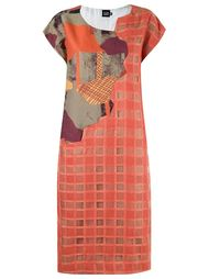 round neck midi dress Fernanda Yamamoto