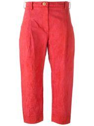 укороченные широкие брюки Suzusan