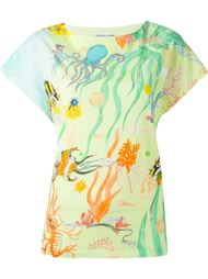 футболка с принтом морских существ Tsumori Chisato